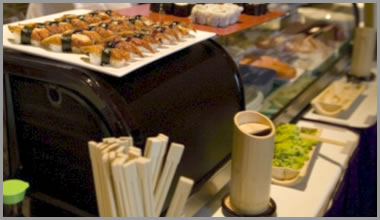 Live Action Sushi & Japanese Cuisine Catering